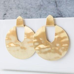 Kendra Scott Diane Statement Earrings In Gold